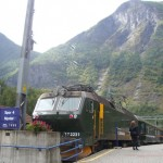 Flam train to Myrdal