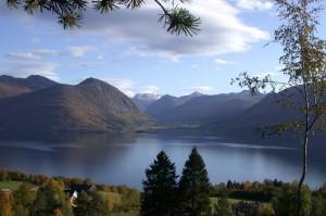 Vistdal Valley in the Norwegian fjords