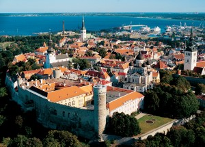 Toompea Castle is one of Estonia's oldest and grandest architectural groupings