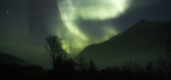 Northern Lights in Kvaloya