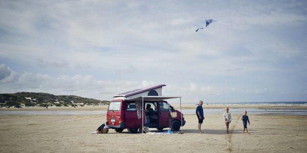 Beach camper by Niclas Jessen