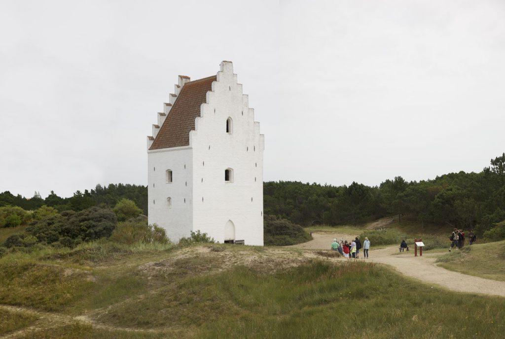 Sanded Church by Kim Wyon