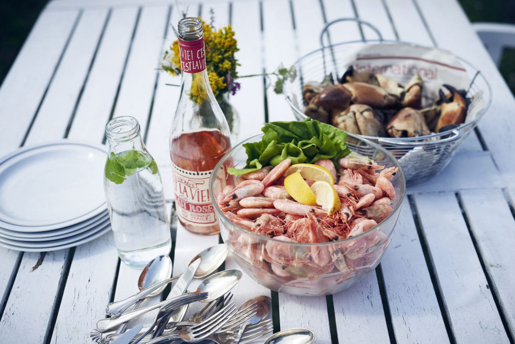 Seafood lunch by Noclas Jessen