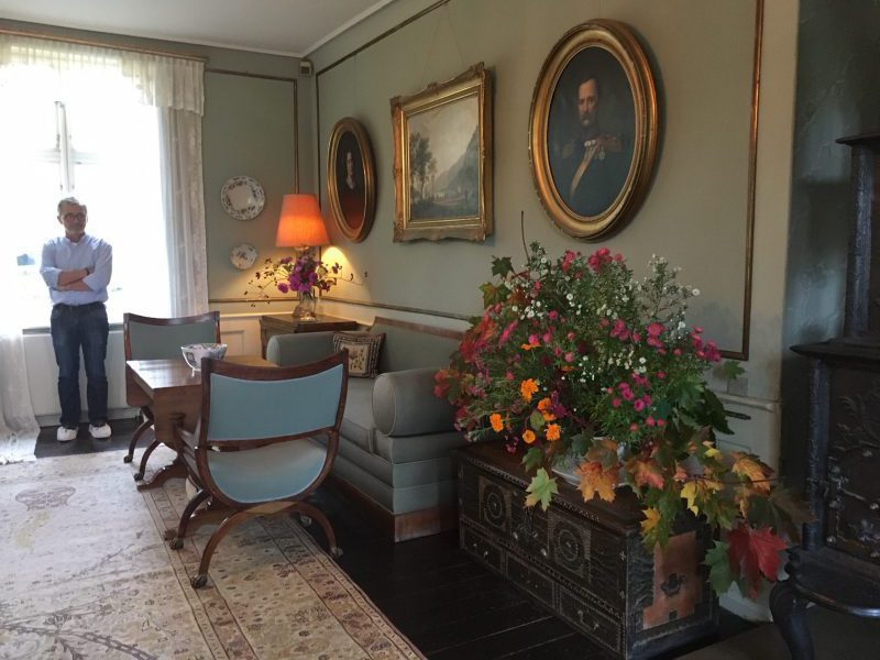 Karen Blixen living room