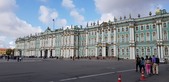 Hermitage in St. Petersburg