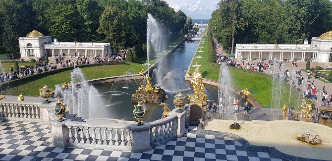 Peterhof Grand Cascade