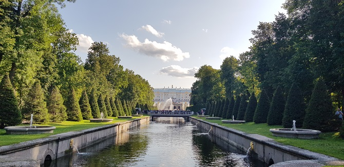 Gardens at Peterhof