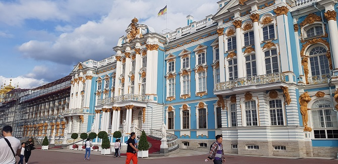 Catherine's Palace in Pushkin