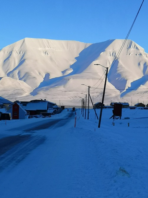 Longyearbyen main road