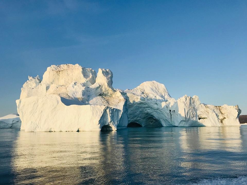 Icebergs in Disco Bay