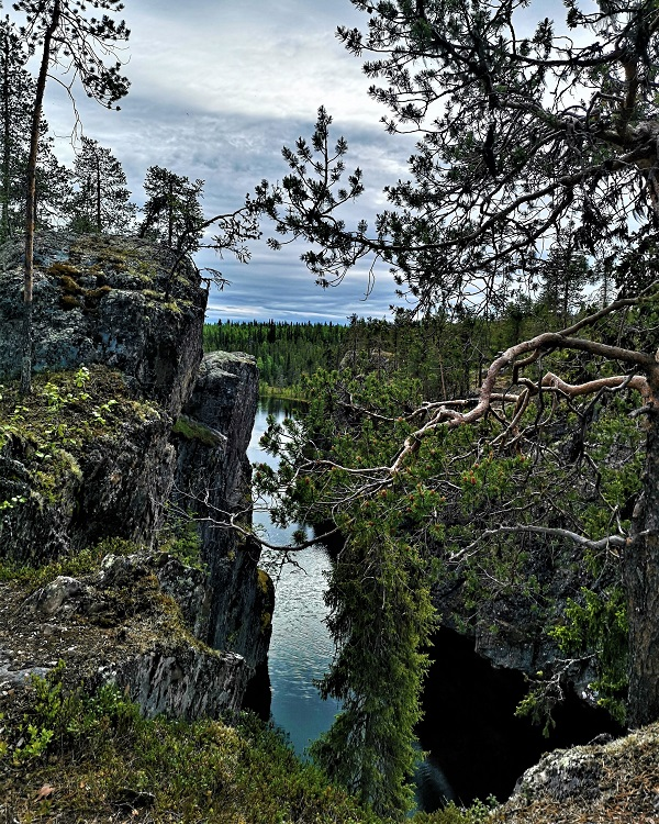 Hike in Swedish Lapland