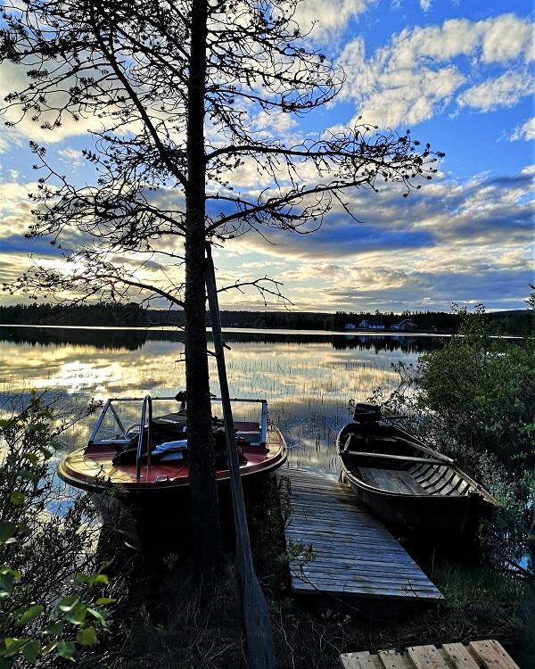 Lake Swedish Lapland