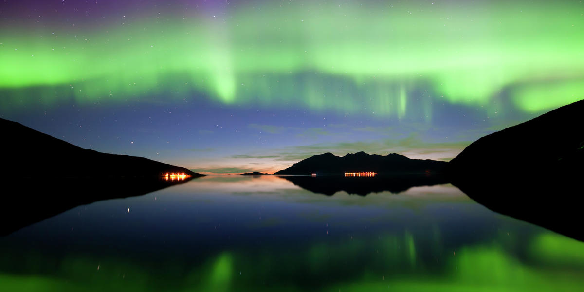 Northern Lights in Autumn @visitnorway