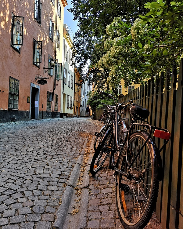 Stockholm Old Town bicycle