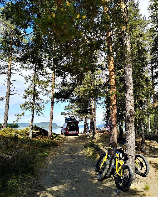 Summer in Sweden with fatbikes