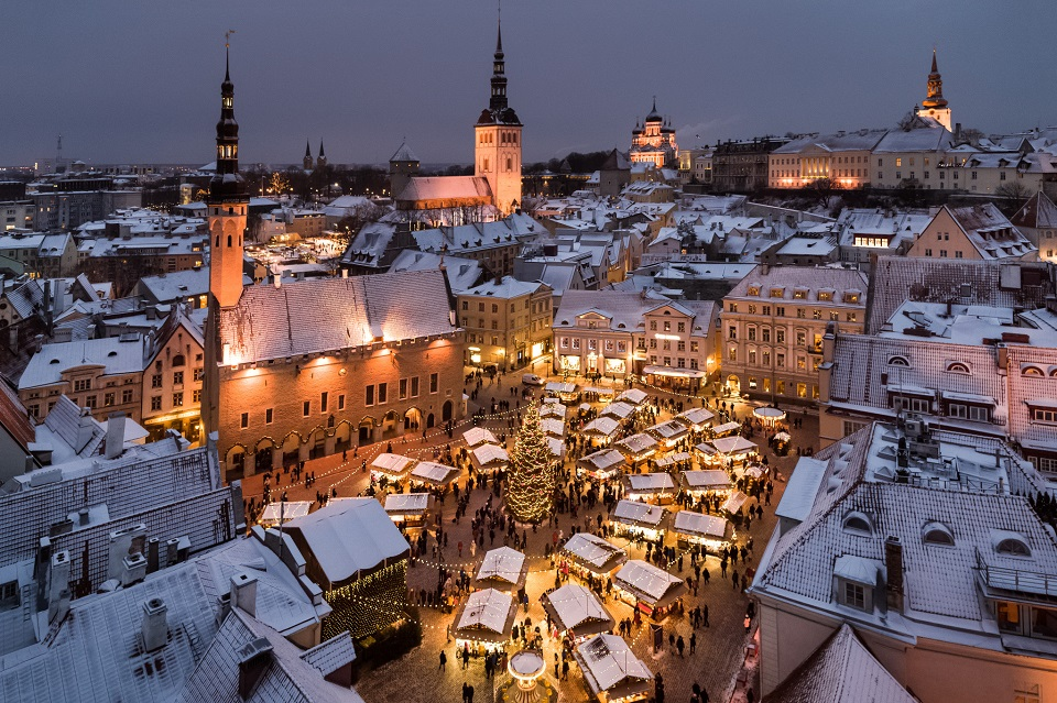 Tallinn Christmas Market. Photo by Sergei Zjuganov